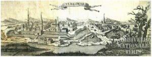 TIMIŞUL DE IERI- Stampe de colecţie cu Cetatea Timişoarei 1