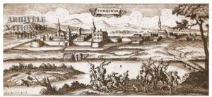 TIMIŞUL DE IERI- Stampe de colecţie cu Cetatea Timişoarei 2